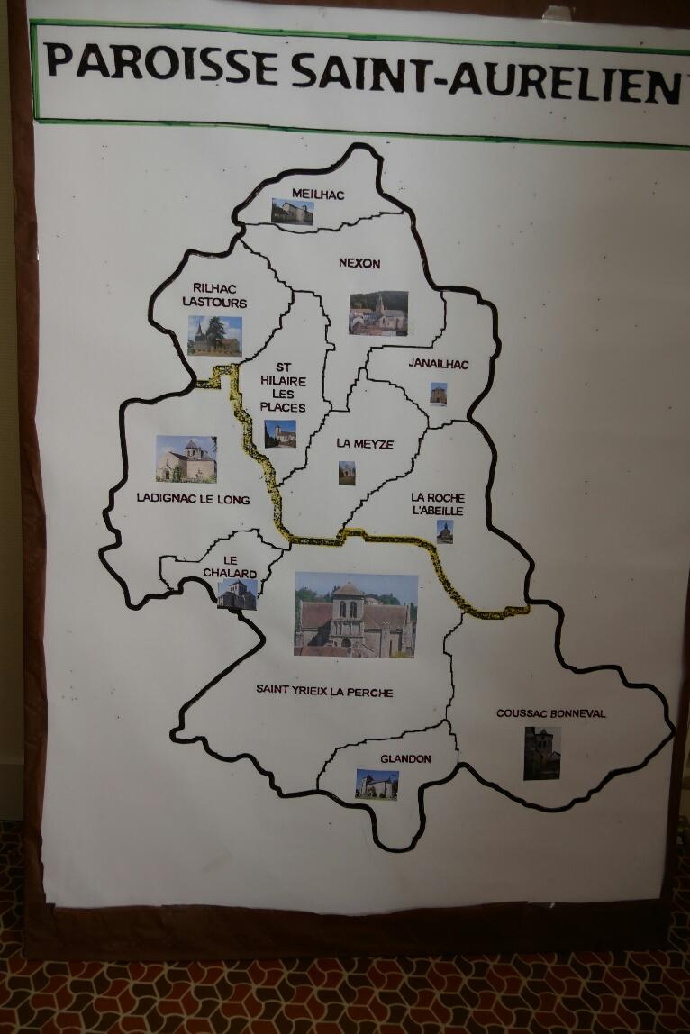 carte paroisse